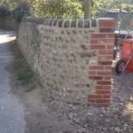 Flint wall repair